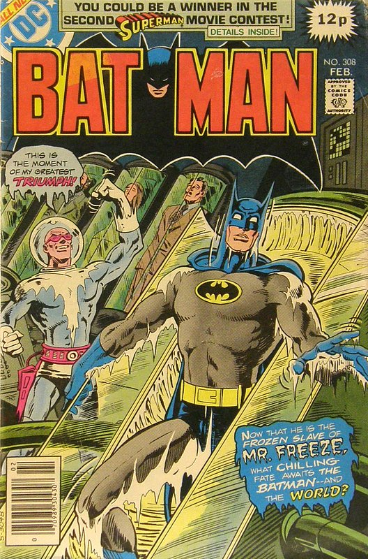 Cover of Batman #308. One of 250,000 Vintage American Comics on sale from Krypton!
