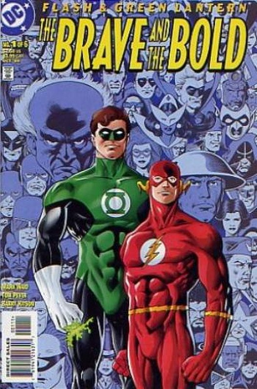 Cover of Flash & Green Lantern: The Brave & the Bold #1. One of 250,000 Vintage American Comics on sale from Krypton!