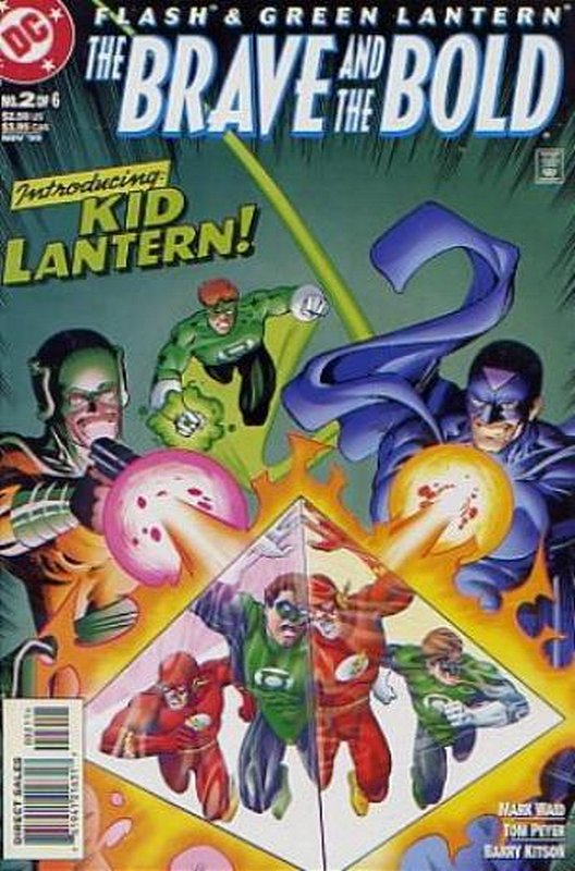 Cover of Flash & Green Lantern: The Brave & the Bold #2. One of 250,000 Vintage American Comics on sale from Krypton!