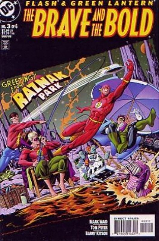 Cover of Flash & Green Lantern: The Brave & the Bold #3. One of 250,000 Vintage American Comics on sale from Krypton!