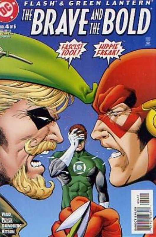 Cover of Flash & Green Lantern: The Brave & the Bold #4. One of 250,000 Vintage American Comics on sale from Krypton!