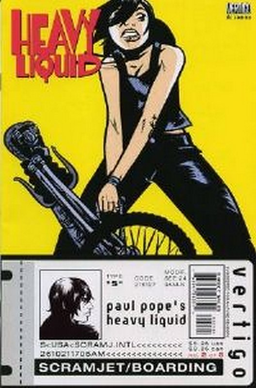Cover of Heavy Liquid (1999 Ltd) #2. One of 250,000 Vintage American Comics on sale from Krypton!
