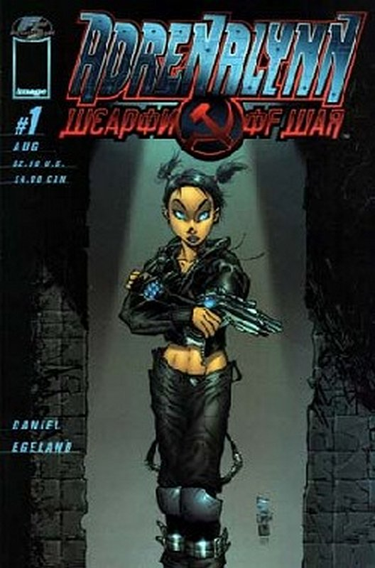 Cover of Adrenalyn: Weapon of War (1999 Ltd) #1. One of 250,000 Vintage American Comics on sale from Krypton!