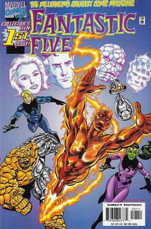Cover of Fantastic Five (Vol 1) #1. One of 250,000 Vintage American Comics on sale from Krypton!