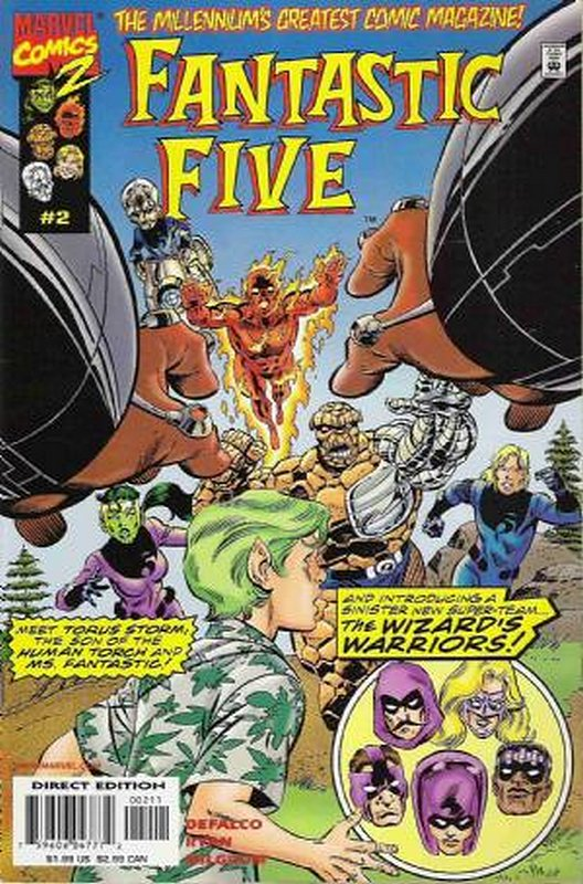 Cover of Fantastic Five (Vol 1) #2. One of 250,000 Vintage American Comics on sale from Krypton!