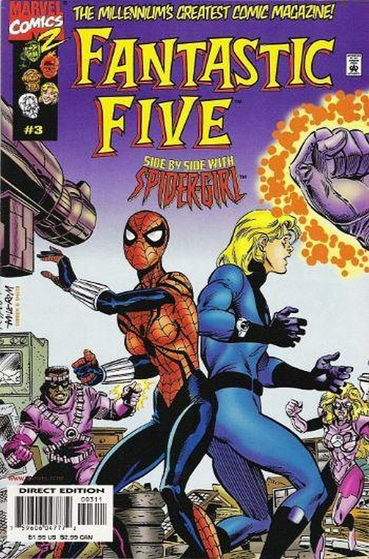 Cover of Fantastic Five (Vol 1) #3. One of 250,000 Vintage American Comics on sale from Krypton!