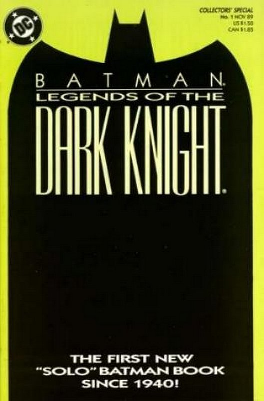 Cover of Batman: Legends of the Dark Knight #1. One of 250,000 Vintage American Comics on sale from Krypton!