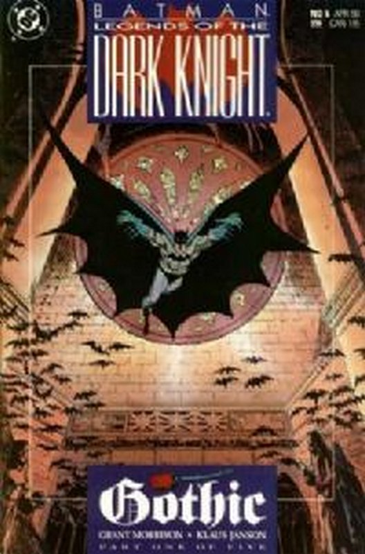 Cover of Batman: Legends of the Dark Knight #6. One of 250,000 Vintage American Comics on sale from Krypton!