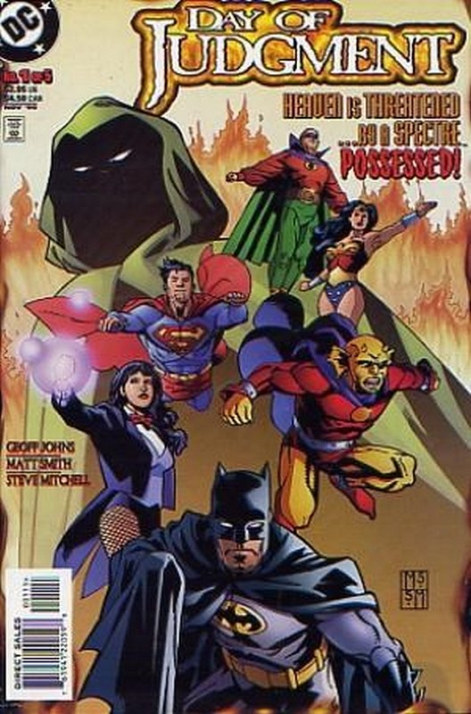 Cover of Day of Judgment (1999 Ltd) #1. One of 250,000 Vintage American Comics on sale from Krypton!