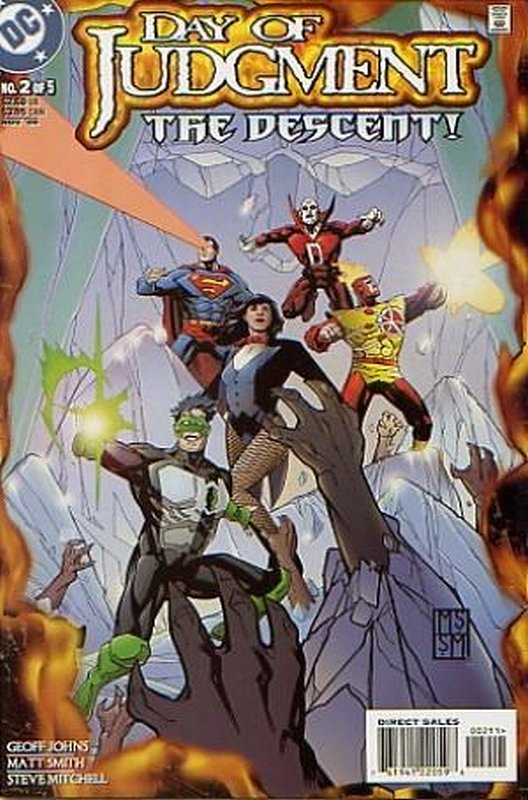 Cover of Day of Judgment (1999 Ltd) #2. One of 250,000 Vintage American Comics on sale from Krypton!