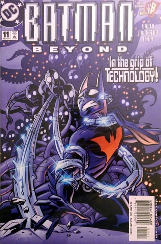 Cover of Batman Beyond (Vol 1) #11. One of 250,000 Vintage American Comics on sale from Krypton!