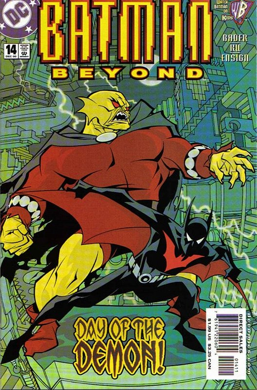 Cover of Batman Beyond (Vol 1) #14. One of 250,000 Vintage American Comics on sale from Krypton!