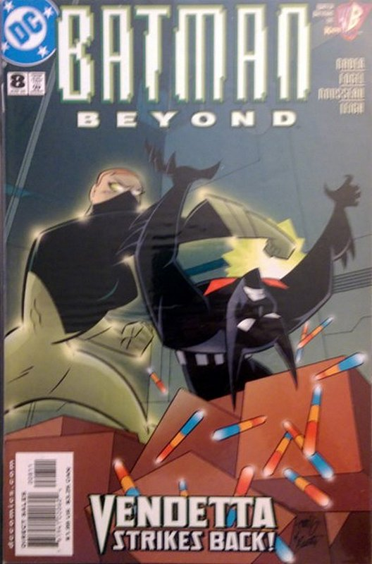 Cover of Batman Beyond (Vol 1) #8. One of 250,000 Vintage American Comics on sale from Krypton!