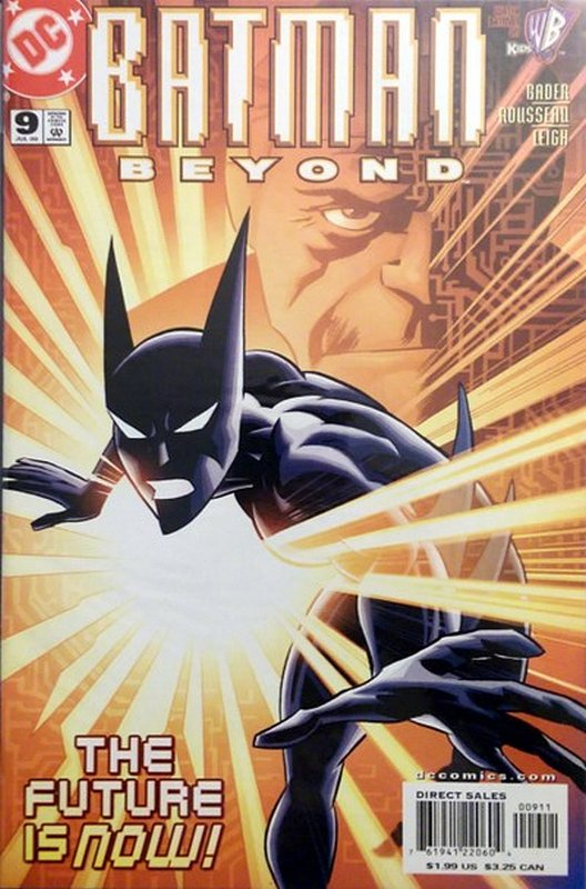 Cover of Batman Beyond (Vol 1) #9. One of 250,000 Vintage American Comics on sale from Krypton!