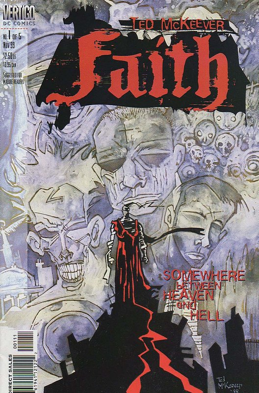 Cover of Faith (1999 Ltd) #1. One of 250,000 Vintage American Comics on sale from Krypton!