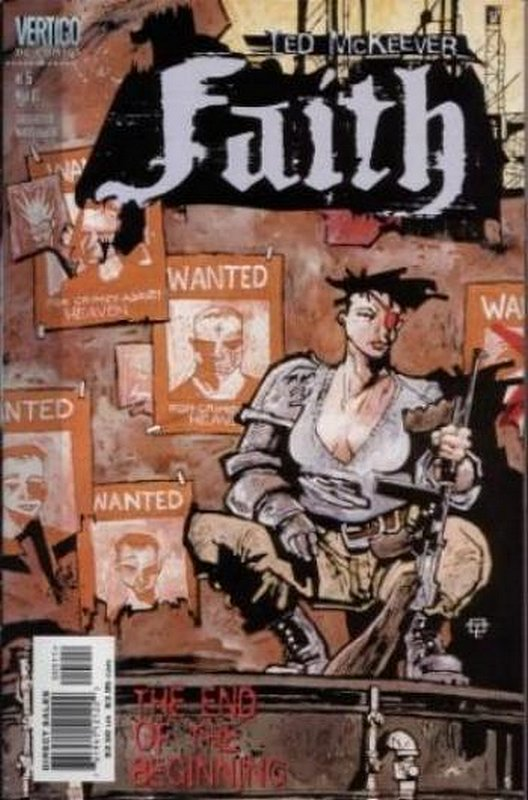 Cover of Faith (1999 Ltd) #5. One of 250,000 Vintage American Comics on sale from Krypton!