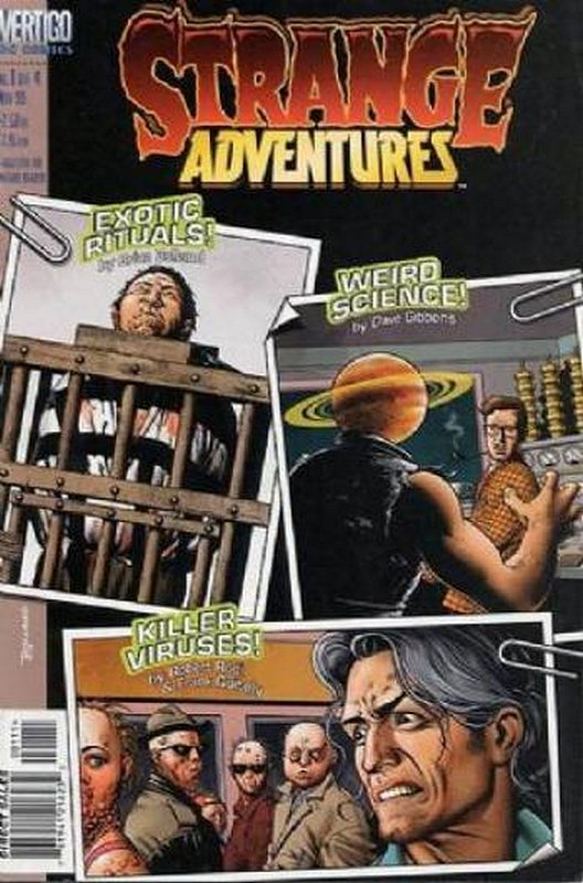 Cover of Strange Adventures (1999 Ltd) #1. One of 250,000 Vintage American Comics on sale from Krypton!