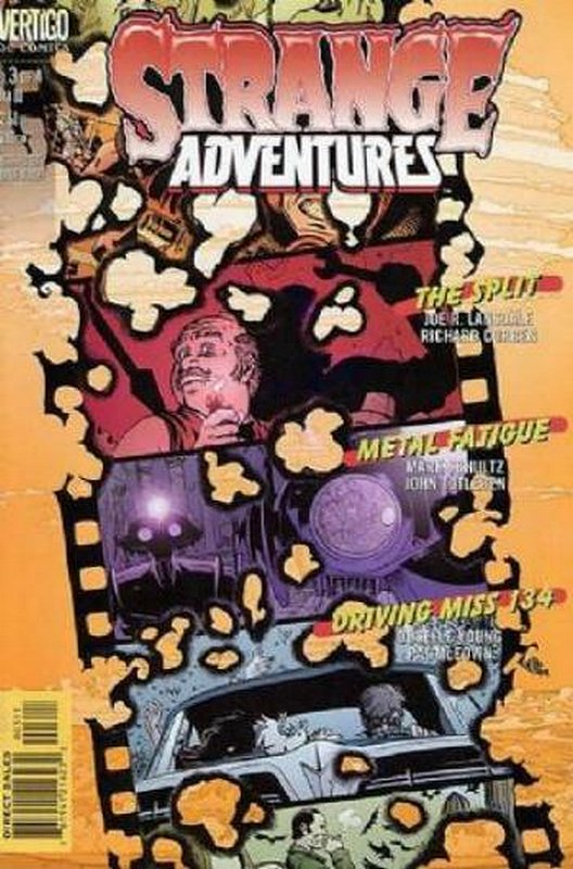 Cover of Strange Adventures (1999 Ltd) #3. One of 250,000 Vintage American Comics on sale from Krypton!