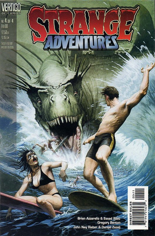 Cover of Strange Adventures (1999 Ltd) #4. One of 250,000 Vintage American Comics on sale from Krypton!