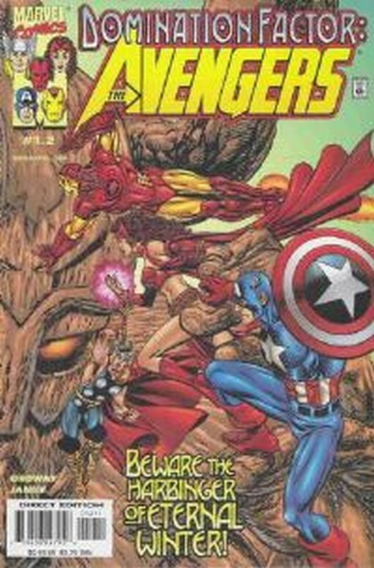 Cover of Domination Factor: Avengers #1. One of 250,000 Vintage American Comics on sale from Krypton!