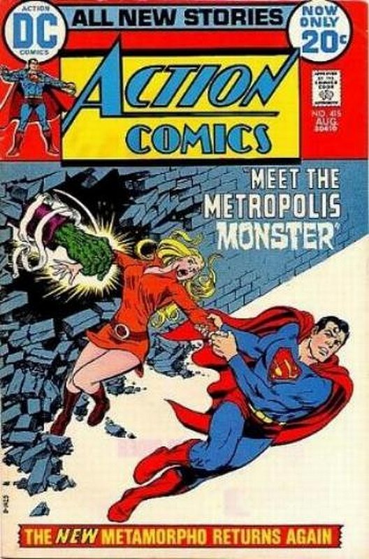 Cover of Action Comics #415. One of 250,000 Vintage American Comics on sale from Krypton!