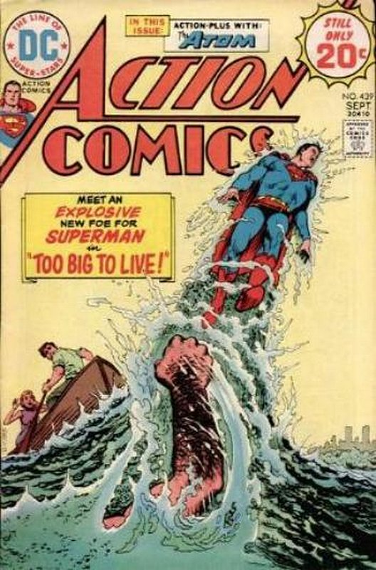 Cover of Action Comics (Vol 1) #439. One of 250,000 Vintage American Comics on sale from Krypton!