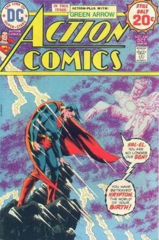 Cover of Action Comics #440. One of 250,000 Vintage American Comics on sale from Krypton!