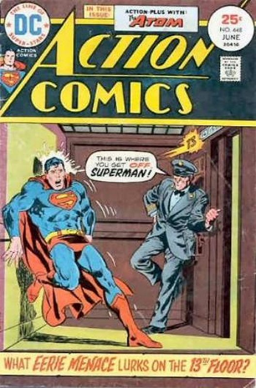 Cover of Action Comics (Vol 1) #448. One of 250,000 Vintage American Comics on sale from Krypton!