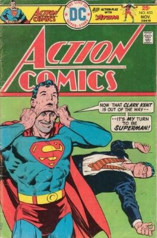 Cover of Action Comics (Vol 1) #453. One of 250,000 Vintage American Comics on sale from Krypton!