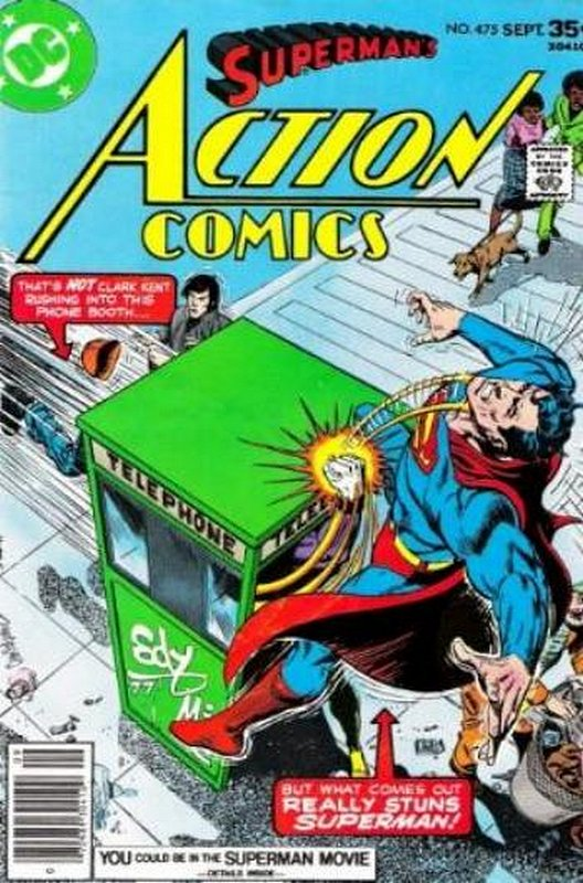 Cover of Action Comics (Vol 1) #475. One of 250,000 Vintage American Comics on sale from Krypton!