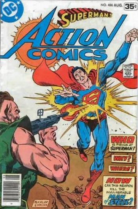Cover of Action Comics (Vol 1) #486. One of 250,000 Vintage American Comics on sale from Krypton!