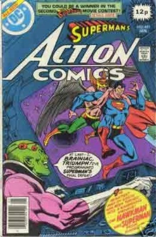 Cover of Action Comics #491. One of 250,000 Vintage American Comics on sale from Krypton!