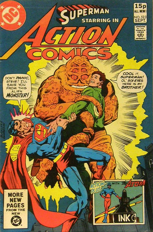 Cover of Action Comics (Vol 1) #523. One of 250,000 Vintage American Comics on sale from Krypton!