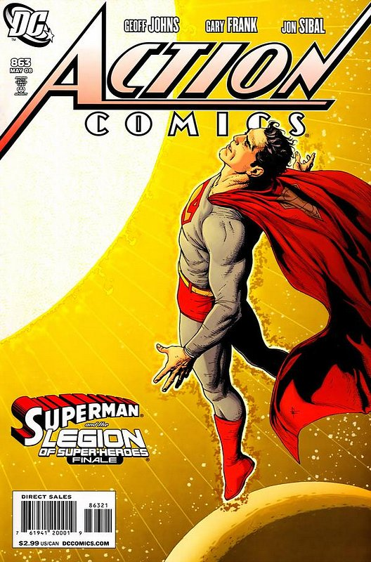 Cover of Action Comics #863. One of 250,000 Vintage American Comics on sale from Krypton!