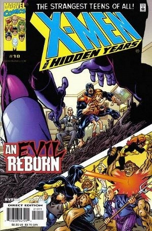 Cover of X-Men: The Hidden Years (Vol 1) #10. One of 250,000 Vintage American Comics on sale from Krypton!