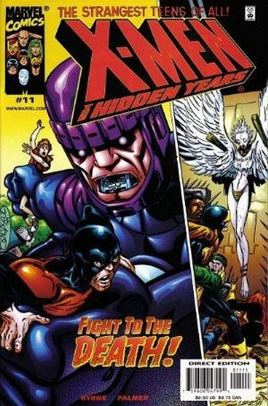 Cover of X-Men: The Hidden Years (Vol 1) #11. One of 250,000 Vintage American Comics on sale from Krypton!