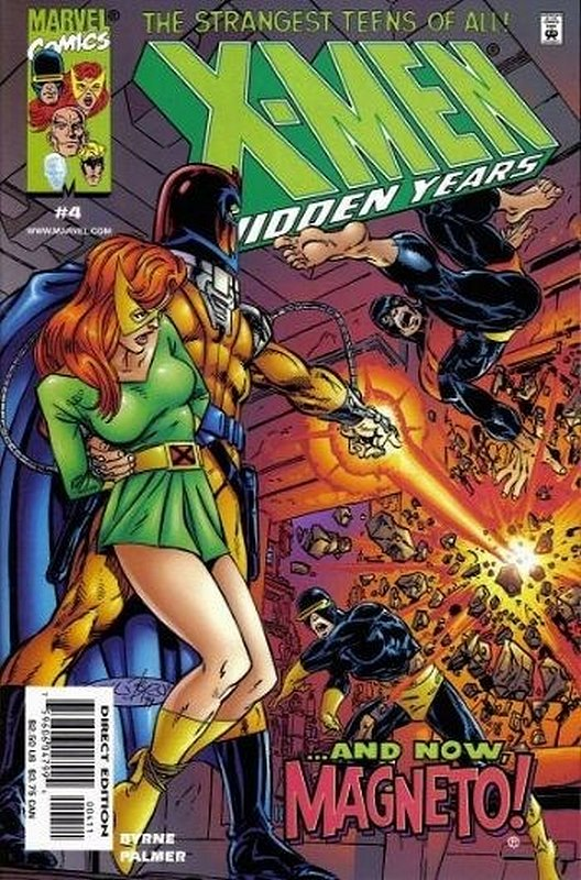 Cover of X-Men: The Hidden Years (Vol 1) #4. One of 250,000 Vintage American Comics on sale from Krypton!