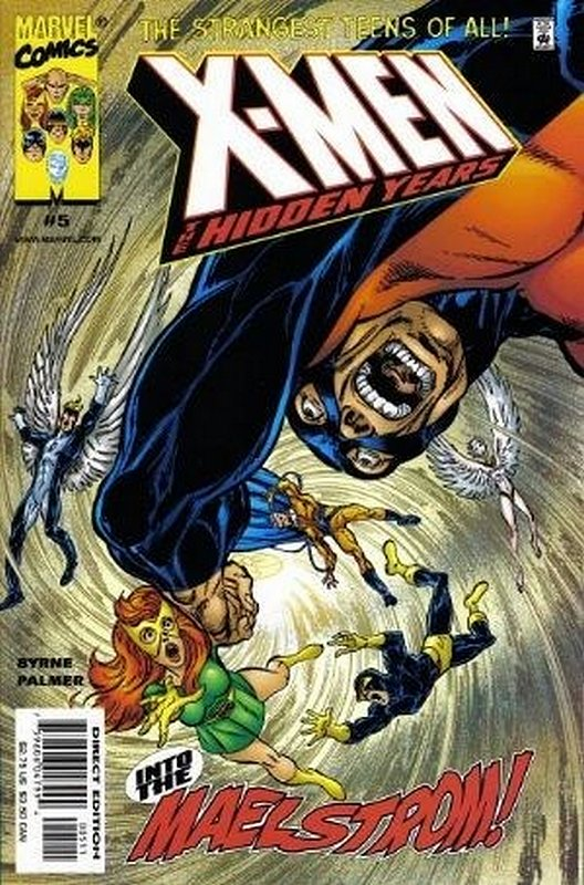 Cover of X-Men: The Hidden Years (Vol 1) #5. One of 250,000 Vintage American Comics on sale from Krypton!
