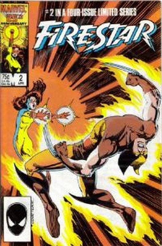 Cover of Firestar (1986 Ltd) #2. One of 250,000 Vintage American Comics on sale from Krypton!