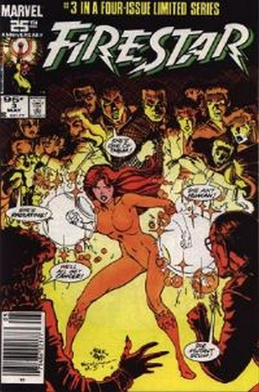 Cover of Firestar (1986 Ltd) #3. One of 250,000 Vintage American Comics on sale from Krypton!