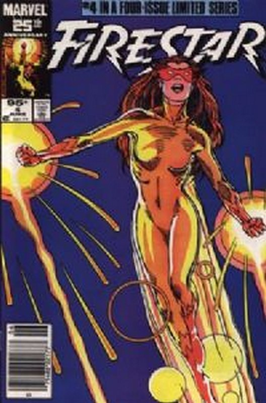 Cover of Firestar (1986 Ltd) #4. One of 250,000 Vintage American Comics on sale from Krypton!