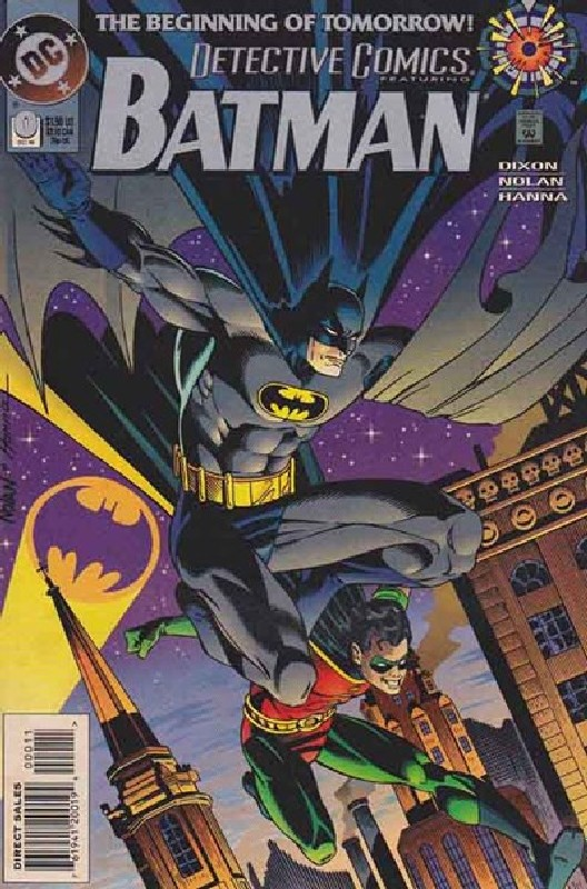 Cover of Detective Comics #0. One of 250,000 Vintage American Comics on sale from Krypton!