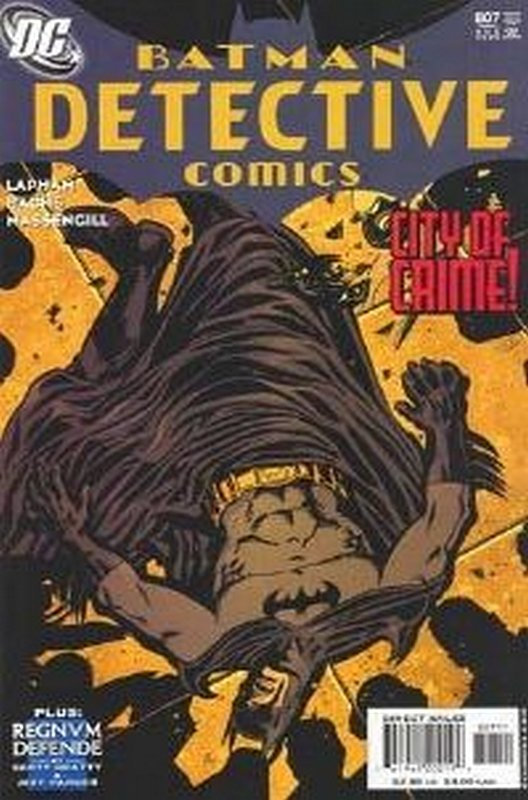 Cover Of Detective Comics 807 One 250000 Vintage American On Sale From