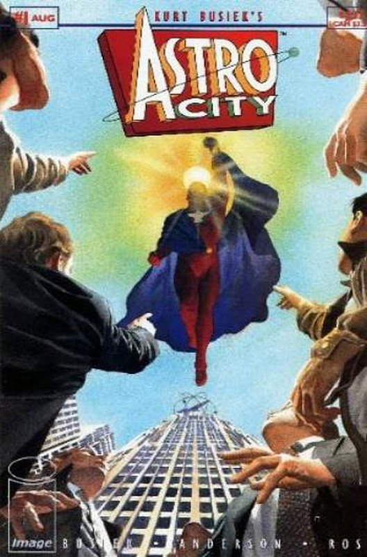 Cover of Astro City (Vol 1) #1. One of 250,000 Vintage American Comics on sale from Krypton!