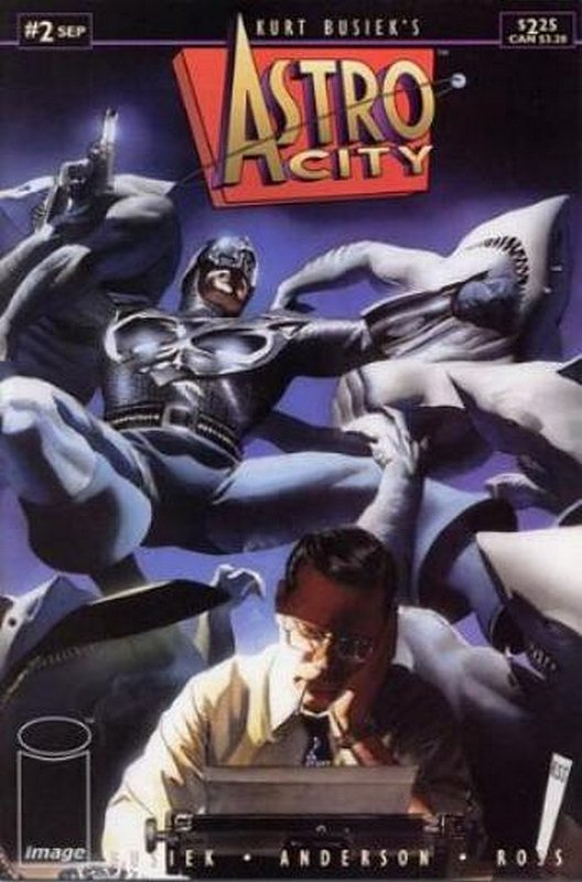 Cover of Astro City (Vol 1) #2. One of 250,000 Vintage American Comics on sale from Krypton!
