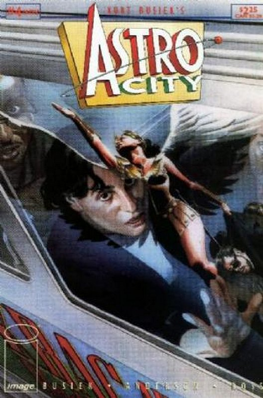 Cover of Astro City (Vol 1) #4. One of 250,000 Vintage American Comics on sale from Krypton!