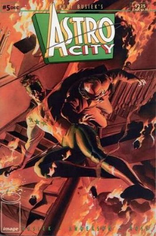 Cover of Astro City (Vol 1) #5. One of 250,000 Vintage American Comics on sale from Krypton!