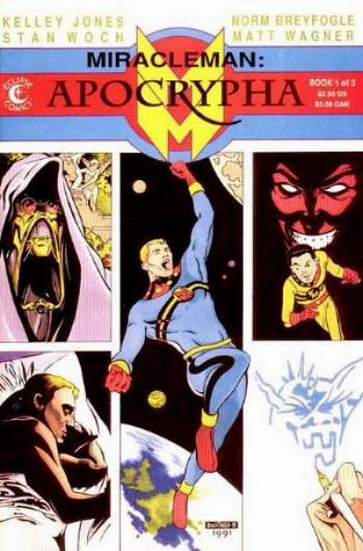 Cover of Miracleman: Apocrypha (1991 Ltd) #1. One of 250,000 Vintage American Comics on sale from Krypton!