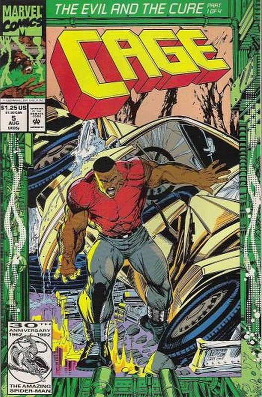 Cover of Cage (Vol 1) #5. One of 250,000 Vintage American Comics on sale from Krypton!
