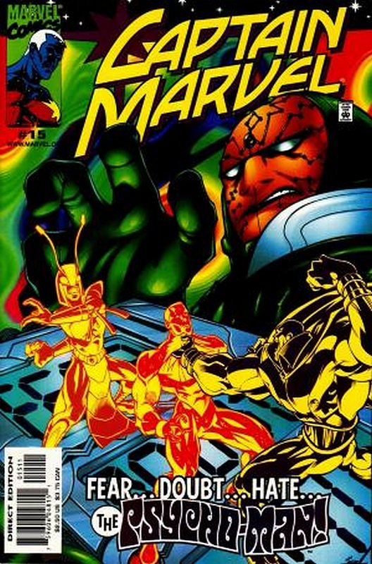 Cover of Captain Marvel (Vol 3) #15. One of 250,000 Vintage American Comics on sale from Krypton!
